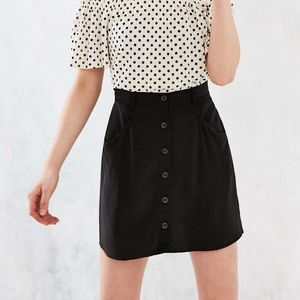 Urban Outfitters Button Up Mini Skirt Size 6